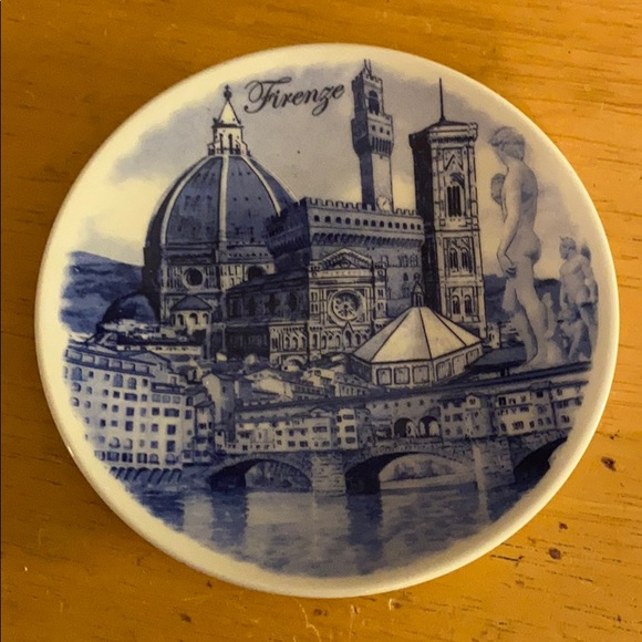 Firenze mini plate wall decor